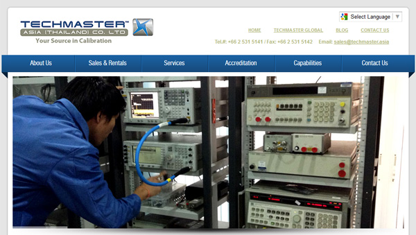 Techmaster Asia (Thailand) Website