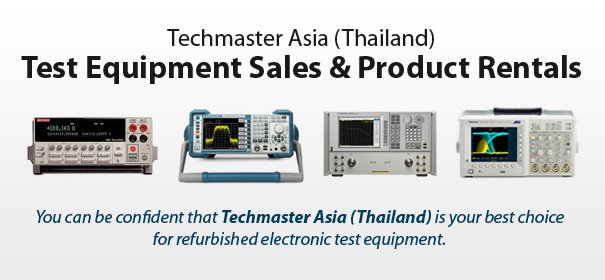 Test Equipment Sales & Product Rentals