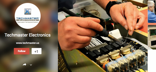 Techmaster Electronics Google Plus Page