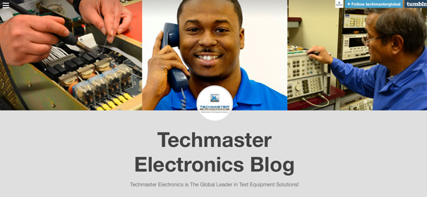 Techmaster Electronics Tumblr Page