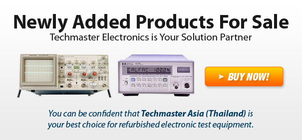 Newly Added Test Equipment Products For Sale